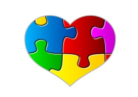 Puzzling pieces of the heart together